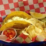 The fish tacos. Tasty.
