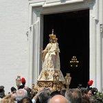 Madonna Mater Domini all'uscita nel giorno della sua festa e di tutti i laertini