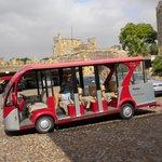 Electric bus tour