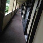 worst rooms ground floor facing the car park