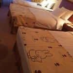 Miffy sheets!! So cute <3