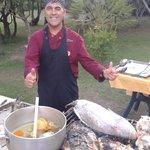 Lo Chef Fabrizio e le sue creazioni
