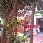 Bar/outdoor area