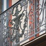 Détail Ferronnerie d'art balcon