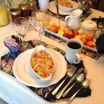 Breakfast at the Desert Oasis