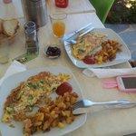 Breakfast at Iro Suites
