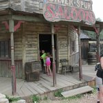 Heading on into the Silver Spur Saloon!