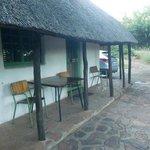 """""""Ons"""" huisje 22 in Restcamp Punda Maria (maart 2014)"""
