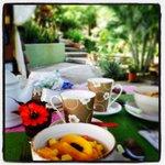 Wonderful breakfast made by Cinzia