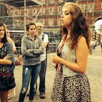 Celia telling us one of many historical moments in Madrid!