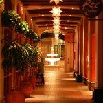 Lights Along Entrance