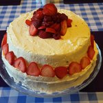 Gorgeous Red Velvet gateau