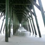 View under the State Park Pier