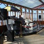 the hammond organ Carousel bar North Pier Blackpool