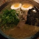 Tonkotsu ramen - one of these best I've ever had! Even compared to ramen I've had in Japan.