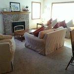 Living room in 2-bedroom suite