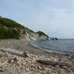 Rocky Beach in Cape Breton Highlands