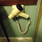 Seriously old hairdryer.