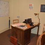 Alan Turing's office in Hut 8