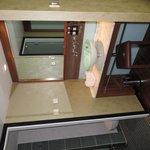 closet & sink area
