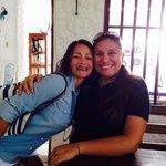 Con Olga en Mediterráneo !!