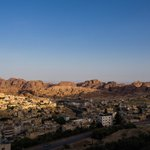 Amazing views to Wadi Musa and Petra from the balcony