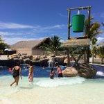 Wave pool at Memories