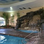 Indoor Pool and Hot Tub - swim out to outdoor pool