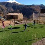 Parque infantil y csmpo de futbol