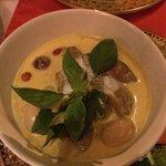 Curry de canard, excellent
