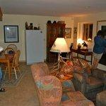 Living area of B/B