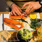 King Crab at the Seafood Bar, Amsterdam