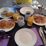 Un bon petit déjeuner complet
