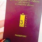 """Passeport avec cartes des chambres  """"Que vous soyez d'ici ou d'ailleurs peu importe ici vous ête"""