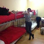 Photo de Bilbao Central Hostel