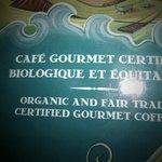 Café gaspésien sur place