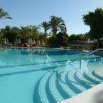 Main pool at 8am