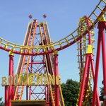 Boomerang rollercoaster