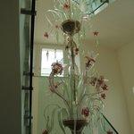Beautiful Stairwell Chandellier