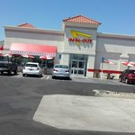In N Out Burger in Modesto area of Northern California