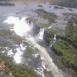 Sobrevoo nas Cataratas do Iguaçu