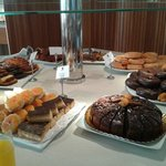 mesa de dulces (desayuno)