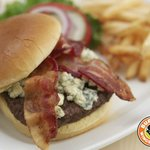 Try our Black and Bleu Burger