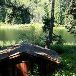 Overlooking the Cusheon Lake