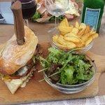 Le burger camembert