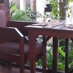 Beautiful restaurant and gardens