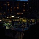 Nighttime...the indoor pool