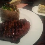 Rib Eye Steak & Loaded Tater