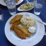 Lake Perch w/ Slaw