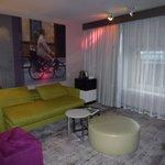 Notre Junior Suite : le salon
